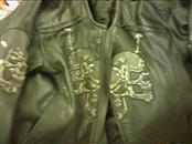 Coat/Jacket LEATHER JACKET USED SIZE LARGE